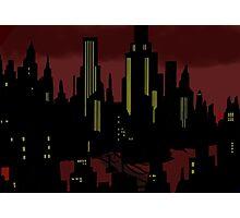 Batman The Animated Series Gotham City Photographic Print