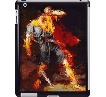 Hero Avoiding Medusas Gaze.  VividScene  iPad Case/Skin