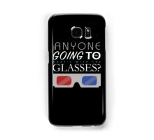 Doctor Who 3D Glasses Samsung Galaxy Case/Skin