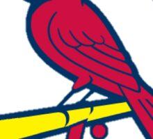 stl cardinals Sticker