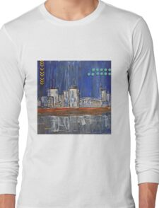 Cityscape by night Long Sleeve T-Shirt