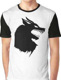 Game of Thrones Direwolf  Graphic T-Shirt