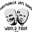 Kaine and Biden's Harmonica Jam Band World Tour by Caffrin25