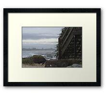 Kings Beach, Sunshine Coast Framed Print