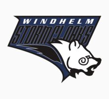 Windhelm Stormcloaks Basketball Logo by botarthedsgnr