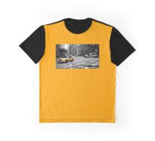 New York Taxi Graphic T-Shirt