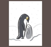 Baby Penguin Feeding time Kids Clothes