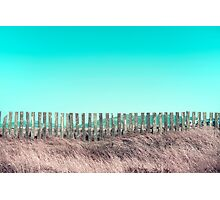 Candy fences Photographic Print