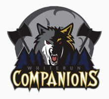 Whiterun Companions Basketball Logo by botarthedsgnr
