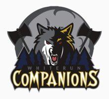 Whiterun Companions Basketball Logo by botarthedsgnr