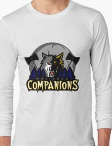 Whiterun Companions Basketball Logo Long Sleeve T-Shirt