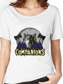 Whiterun Companions Basketball Logo Women's Relaxed Fit T-Shirt