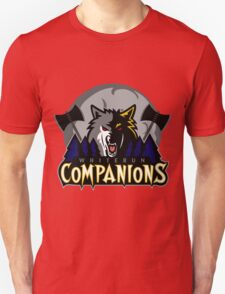 Whiterun Companions Basketball Logo T-Shirt