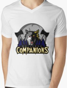 Whiterun Companions Basketball Logo Mens V-Neck T-Shirt