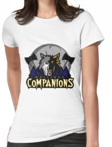 Whiterun Companions Basketball Logo Womens Fitted T-Shirt