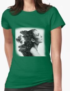 Women nature Womens Fitted T-Shirt