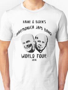 Kaine and Biden's Harmonica Jam Band World Tour Unisex T-Shirt