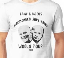 Kaine and Biden's Harmonica Jam Band World Tour Unisex T-Shirt