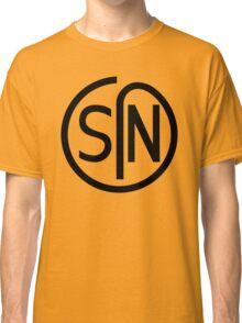 NJS SIN T-Shirt Black Print Classic T-Shirt