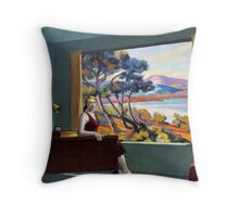 Southern Motel - Hopper x Unknown Throw Pillow