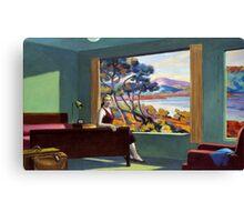 Southern Motel - Hopper x Unknown Canvas Print