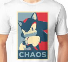 Shadow the Hedgehog (Obama Hope Poster Parody) Unisex T-Shirt