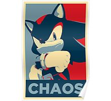 Shadow the Hedgehog (Obama Hope Poster Parody) Poster