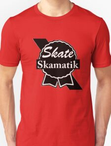 Skate Ribbon  Unisex T-Shirt