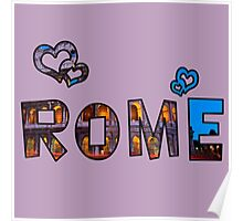 Love Rome Poster