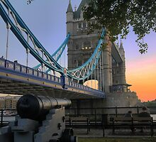 Canon at the Tower by Larry Lingard-Davis