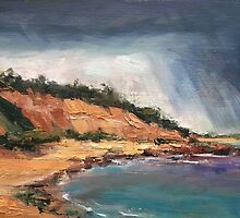 Rain Over the Bluff by Roz McQuillan