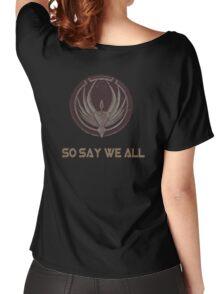 Battlestar Women's Relaxed Fit T-Shirt