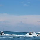Boats in Jupiter, Florida by alicede