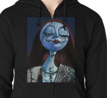 The Nightmare before Christmas - Sally Zipped Hoodie
