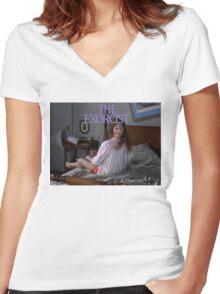 The Exorcist Women's Fitted V-Neck T-Shirt