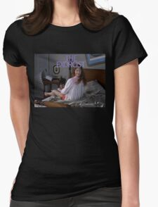The Exorcist Womens Fitted T-Shirt