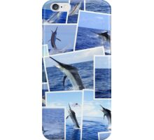 Marlin Photograph Montage iPhone Case/Skin