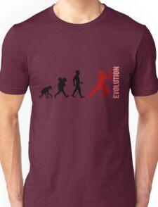 Evolution - Cricket (design 1) Unisex T-Shirt
