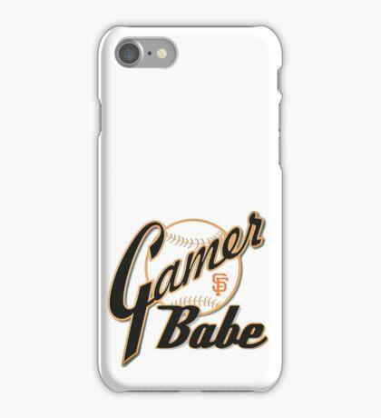 SF Giants Gamer Babe iPhone Case/Skin