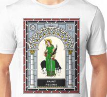 ST REGINA under STAINED GLASS Unisex T-Shirt