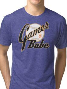 SF Giants Gamer Babe Tri-blend T-Shirt