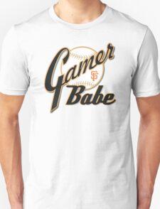 SF Giants Gamer Babe Unisex T-Shirt