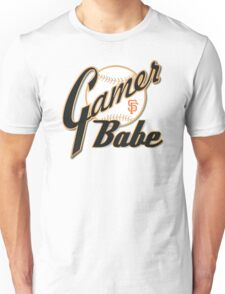 SF Giants Gamer Babe Unisex T-Shirt