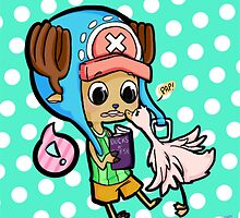 Chopper and a Duck by Kinderlinsbutt