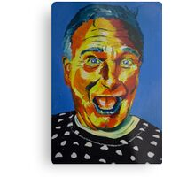 Robbin Williams acrylic on paper Metal Print