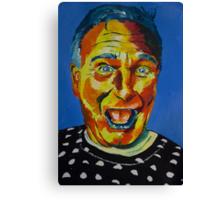 Robbin Williams acrylic on paper Canvas Print