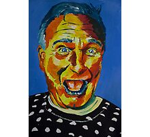 Robbin Williams acrylic on paper Photographic Print