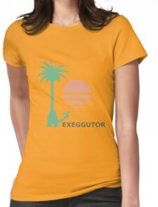 Dexio's ALOLAN EXEGGUTOR Shirt | Pokémon Sun/Moon Womens Fitted T-Shirt
