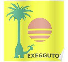 Dexio's ALOLAN EXEGGUTOR Shirt | Pokémon Sun/Moon Poster