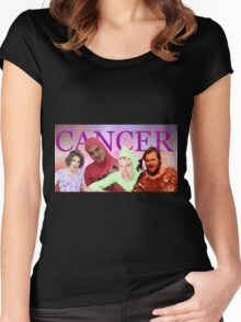 iDubbbz, Filthy Frank (Joji), MaxMoeFoe, Anything4Views CANCER Women's Fitted Scoop T-Shirt